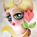 Betty (acrylic on canvas) 24 x 18 inches – SOLD